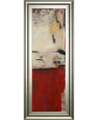 """Drop Box II by Erin Ashley Framed Print Wall Art - 18"""" x 42"""""""