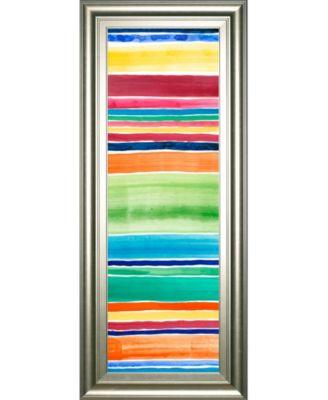 "Cabana Panel I by Regina Moore Framed Print Wall Art - 18"" x 42"""