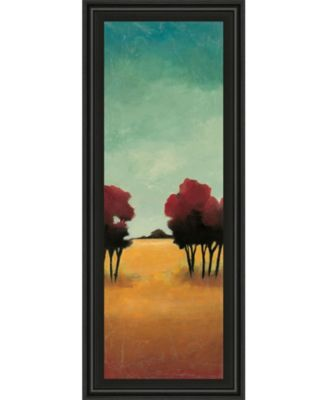 """A New Day I by Angelina Emet Framed Print Wall Art - 18"""" x 42"""""""