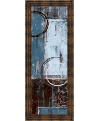 "Cool Dance Il by Maria Donovan Framed Print Wall Art - 18"" x 42"""