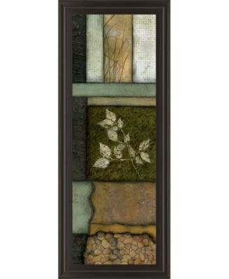 """Elements of Nature I by Norm Olson Framed Print Wall Art - 18"""" x 42"""""""