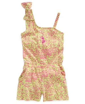 Baby Phat Kids Romper Girls LeopardPrint Romper