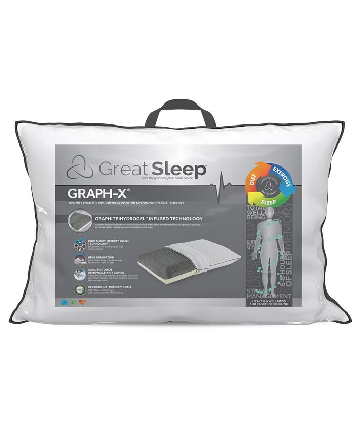 Great Sleep - GRAPH-X Memory Foam Pillow
