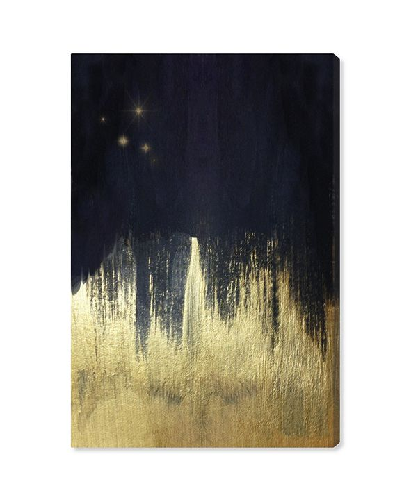 """Oliver Gal Starry Night Canvas Art, 10"""" x 15"""""""