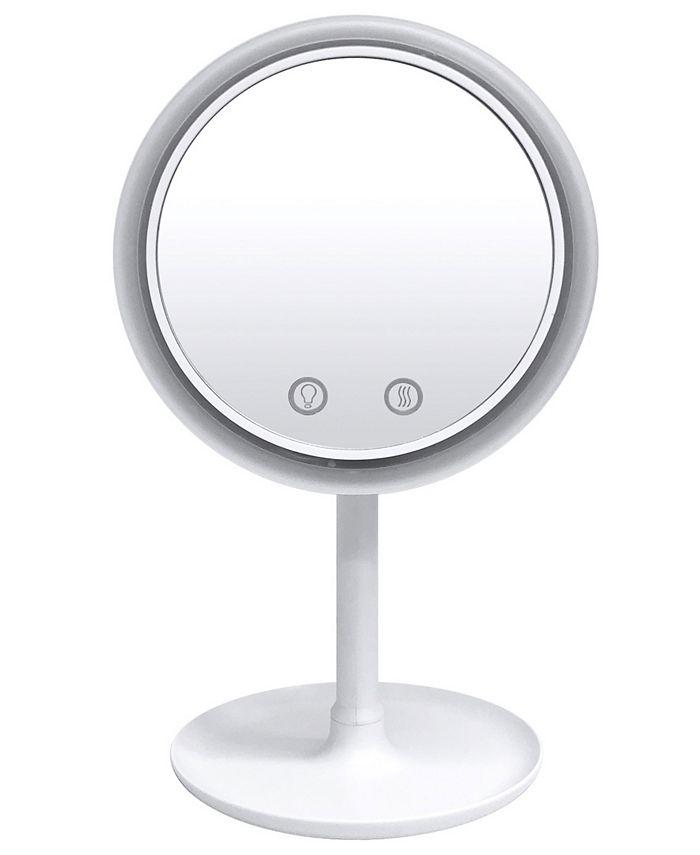 NuBrilliance - Beauty Breeze Mirror with a Cool Breeze Fan Built-In Light, As Seen on TV