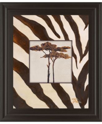 """Contemporary Africa I by Patricia Pinto Framed Print Wall Art, 22"""" x 26"""""""