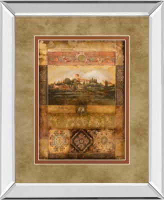 "Centimento II by Douglas Mirror Framed Print Wall Art, 34"" x 40"""