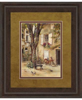 """Provence Village I by Marilyn Hageman Framed Print Wall Art, 34"""" x 40"""""""