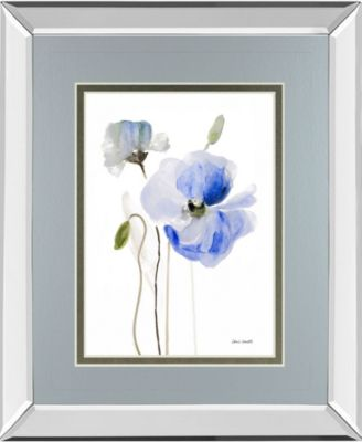"All Poppies I by Lanie Loreth Mirror Framed Print Wall Art, 34"" x 40"""