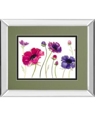 """Fanfare II by Marilyn Robertson Mirror Framed Print Wall Art, 34"""" x 40"""""""