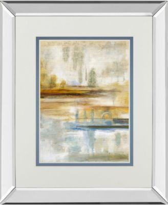 "Earthscape II by Augustine Mirror Framed Print Wall Art, 34"" x 40"""