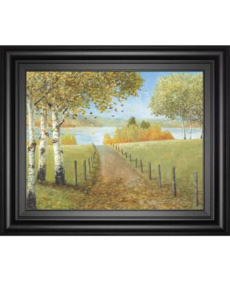 """Rural Route I by A. Fisk Framed Print Wall Art, 22"""" x 26"""""""
