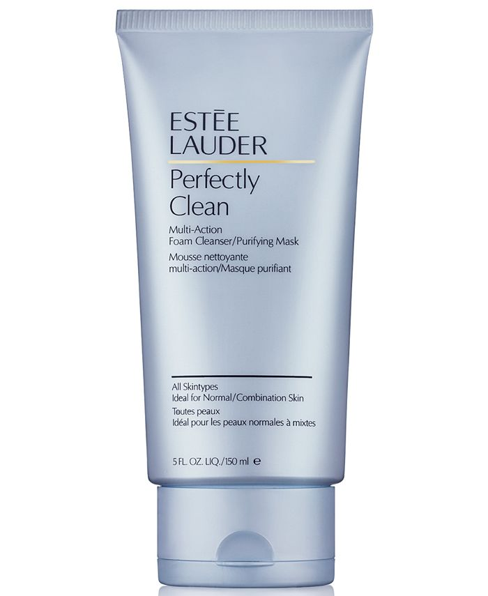 Estée Lauder - Perfectly Clean Multi-Action Foam Cleanser/Purifying Mask, 5-oz.