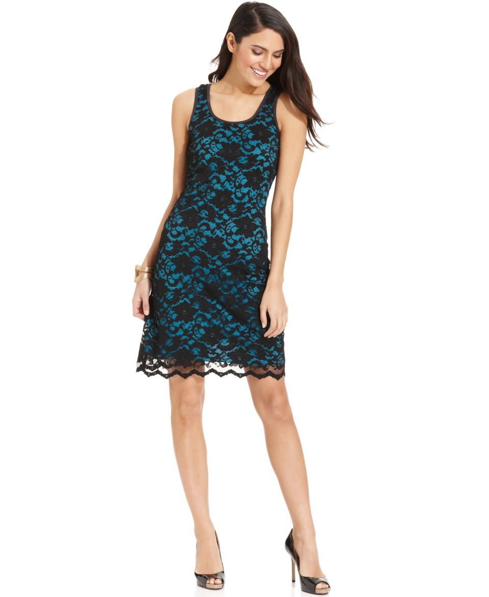 Karen Kane Dress, Sleeveless Lace   Dresses   Women
