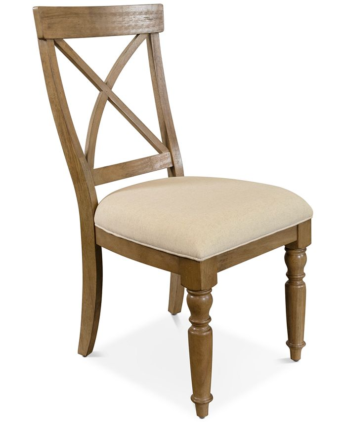Furniture - Aberdeen X-Back Upholstered Side Chair