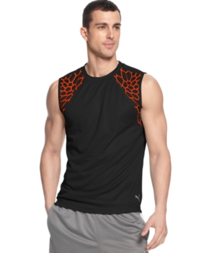 Puma Shirt dryCELL Web Sleeveless Training TShirt