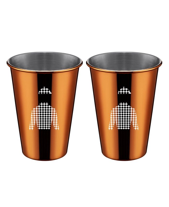 Thirstystone - 2 Pack Copper Jockey Shirt Cups