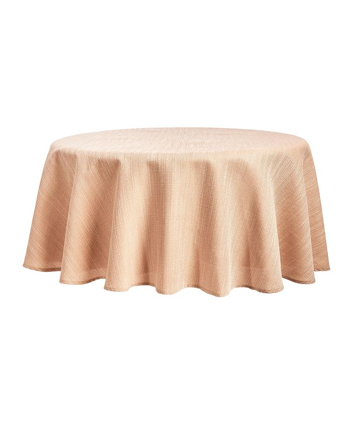 """Town & Country Living - Harper Tablecloth, 70"""" Round"""
