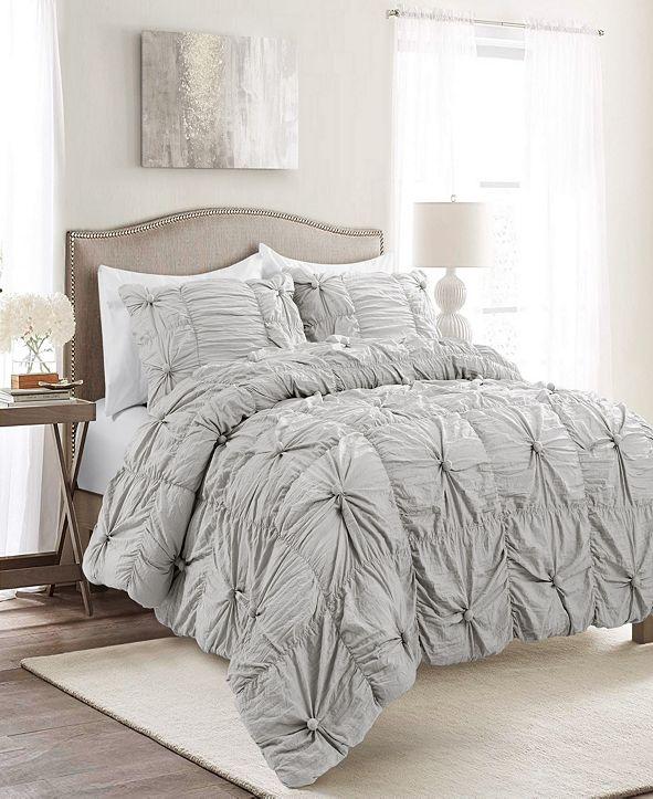 Lush Decor Bella 3-Piece King Comforter Set