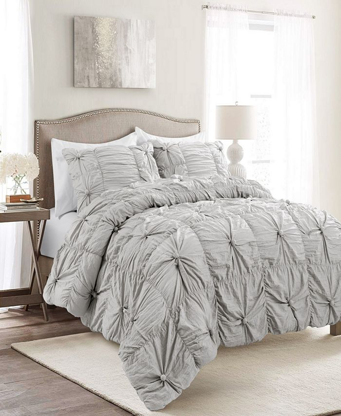 Lush Décor - Bella 3-Piece King Comforter Set