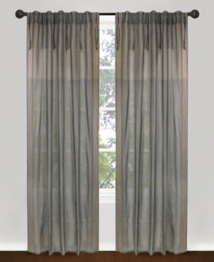 "park b. smith window treatments, bellaire 40"" x 84"" panel bedding"