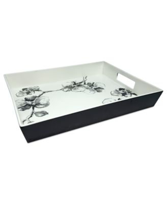 MADHOUSE by Michael Aram Serveware, Black Orchid Melamine Serving Tray