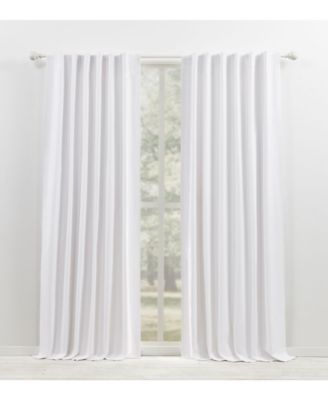 Waller Blackout Solid Tab/Rod Pocket Curtain Panel, 52