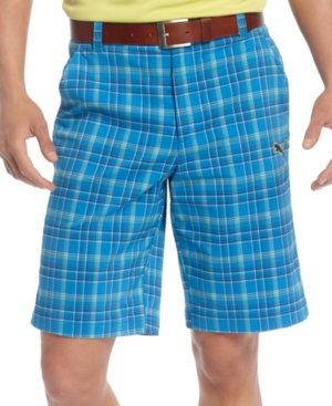 Puma Golf dryCELL Shorts Plaid Tech Golf Shorts