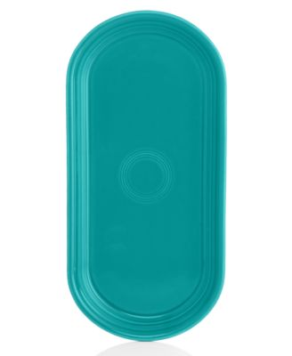 Fiesta Turquoise Bread Tray