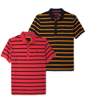 Sean John Shirt Stripe Polo Shirt