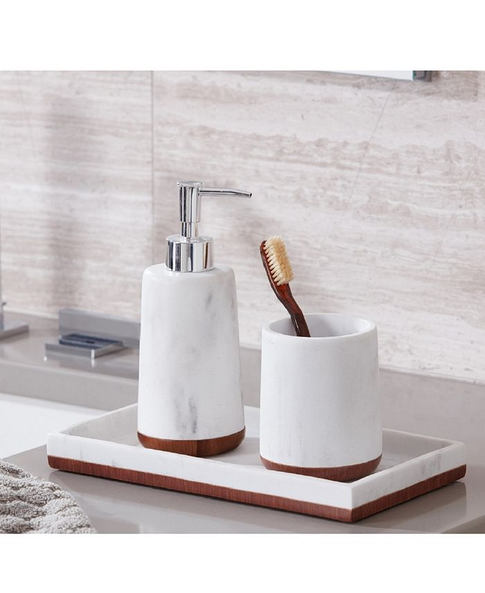 Roselli Trading Company Eleganza 3 Pc Bath Accessory Set Reviews Bathroom Accessories Bed Macy S