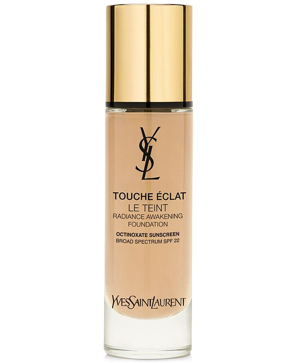 Yves Saint Laurent Touche Éclat Foundation SPF 22, 1 oz.