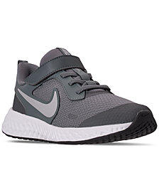 Nike Little Kids Revolution 5 Stay-Put Closure Running Sneakers from Finish Line