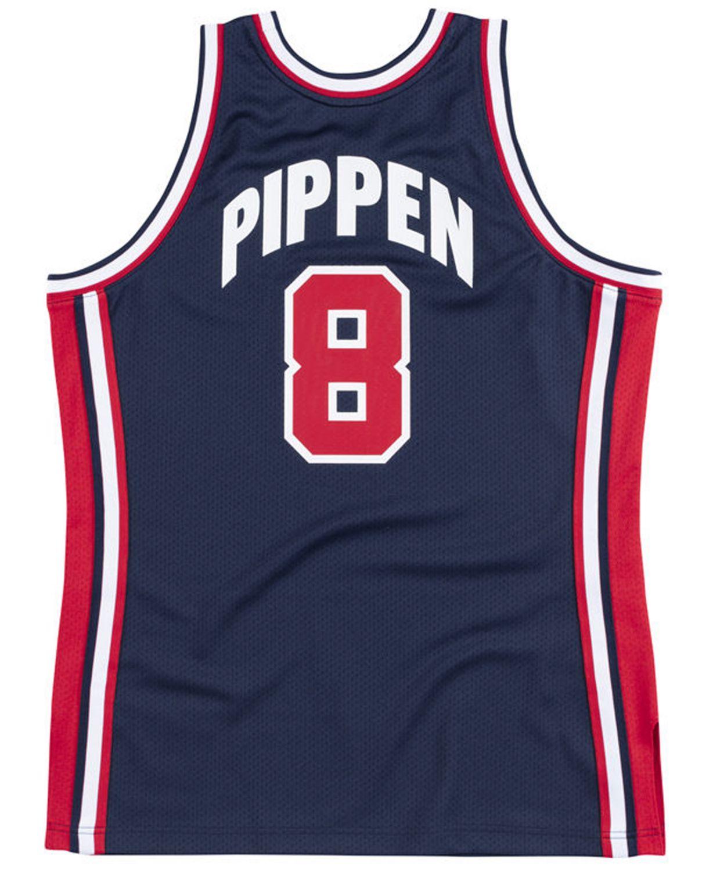 Mitchell & Ness Men's Scottie Pippen Authentic USA Jersey & Reviews - Sports Fan Shop By Lids - Men - Macy's