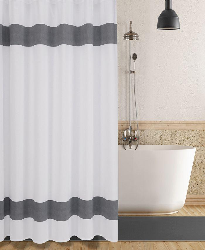 Enchante Home - Unique Turkish Cotton Shower Curtain
