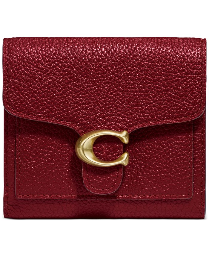 COACH - Polished Pebble Tabby Small Wallet