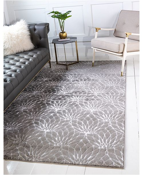 Marilyn Monroe Glam Mmg003 Gray Area Rug Collection Reviews Rugs Macy S