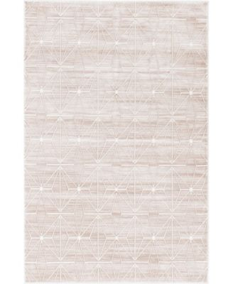 Fifth Avenue Uptown Jzu002 Light Brown 8' x 10' Area Rug