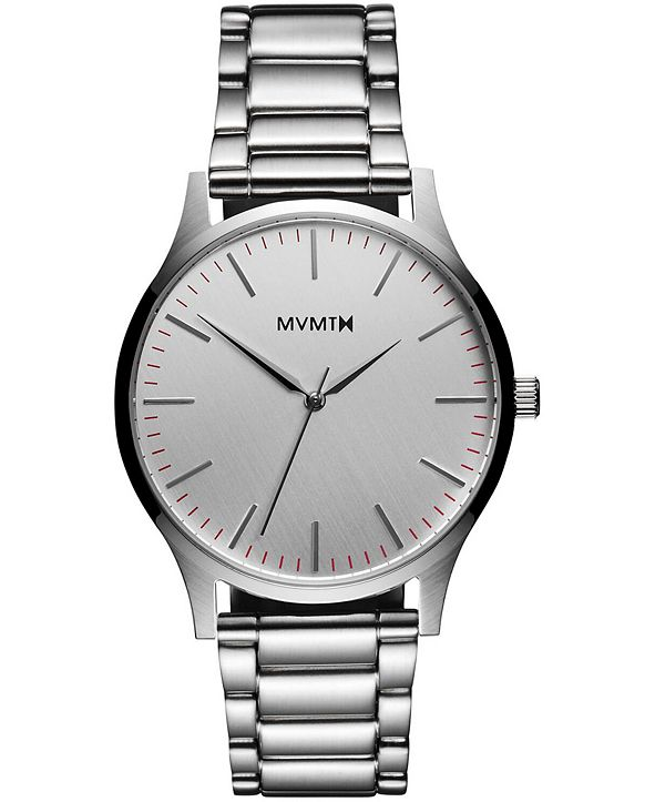 MVMT Men's 40 Series Stainless Steel Bracelet Watch 40mm