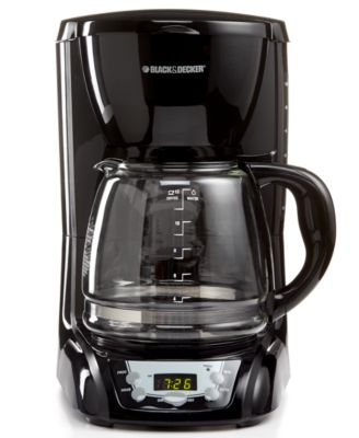 Black & Decker DLX1050B Coffee Maker, 12 Cup Programmable
