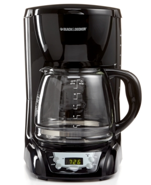 Black & Decker 12-Cup Programmable Coffee Maker, CM2030B Price Tracking