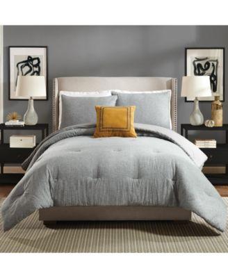 Asher King 3 Piece Comforter Set