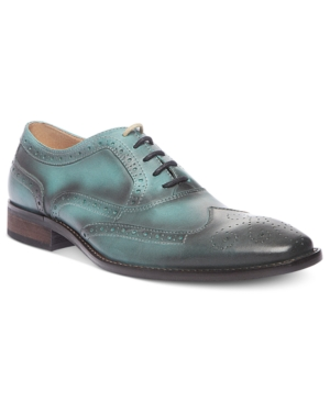 Steve Madden Mens Shoes Persistt WingTip Lace Oxfords Mens Shoes