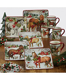 Certified International Christmas on the Farm Collection