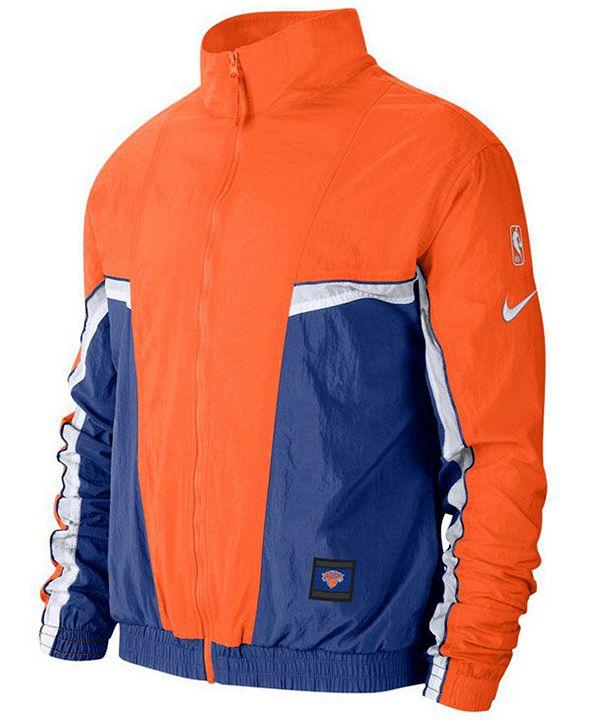 Nike Men's New York Knicks Courtside Tracksuit Jacket