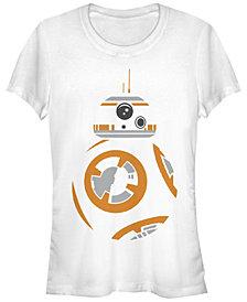 Fifth Sun Star Wars Women's Bb-8 Profile Colored Stencil Art Short Sleeve Tee Shirt