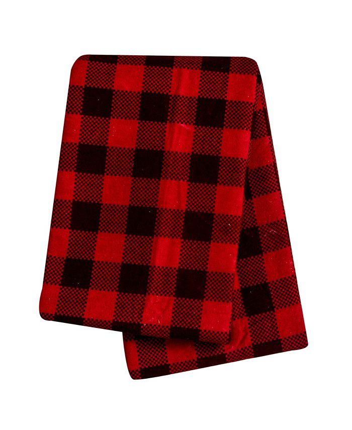 Trend Lab - Buffalo Check Flannel Swaddle Blanket