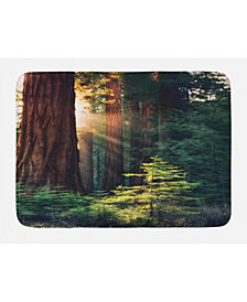 Ambesonne National Parks Bath Mat