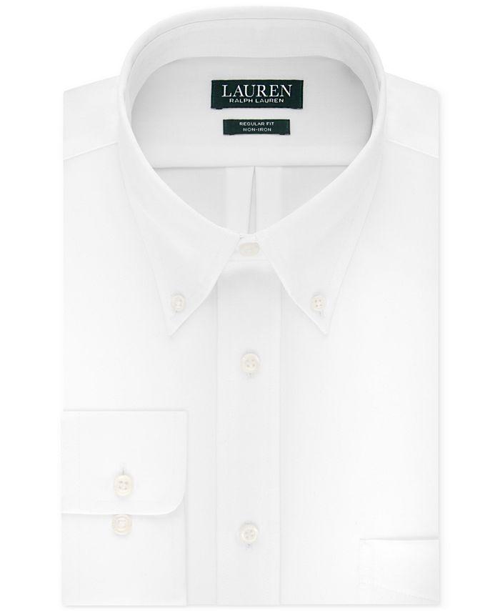 Lauren Ralph Lauren - Men's Classic-Fit Solid Dress Shirt