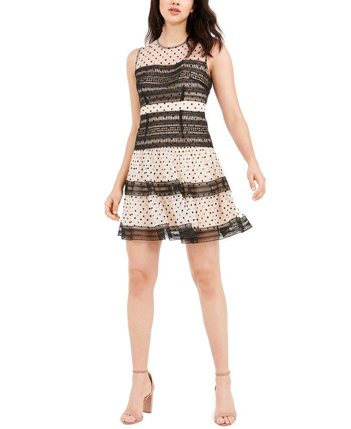 foxiedox - Mimi Polka-Dot Dress